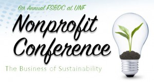 6th Annual FSBDC at UNF Nonprofit Conference banner