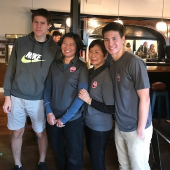 Owners of Wicked Bao Restaurant